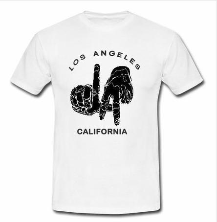 Los angeles california t shirt for Los angeles california shirt