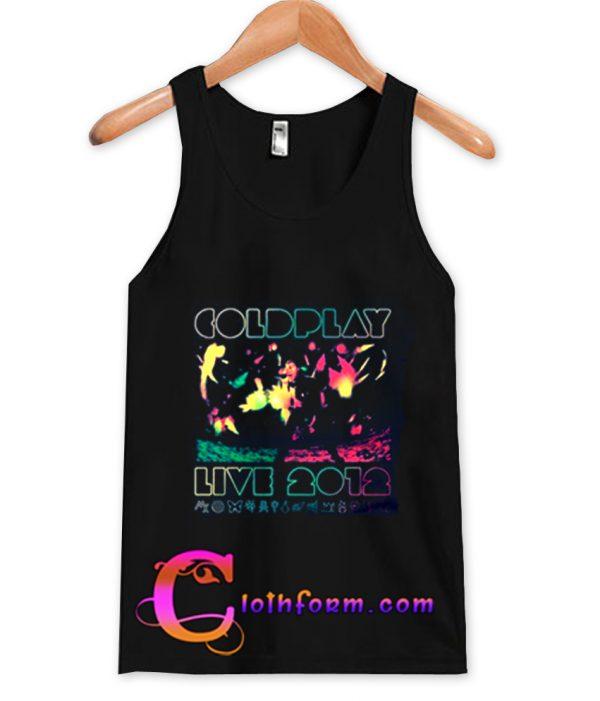 2012 Australian Tour Coldplay Tanktop