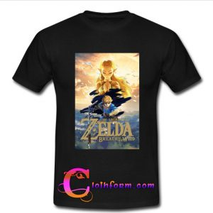 Zelda Breath Of The Wild t shirt