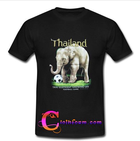 Thailand elephant t shirt for T shirt printing thailand
