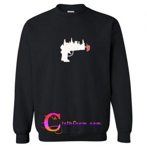 Abstract Gun Rose Sweatshirt