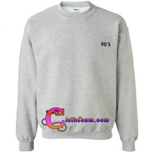 90 S sweatshirt