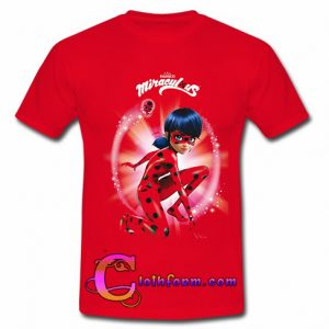ZAG Heroez Red Miraculous t shirt