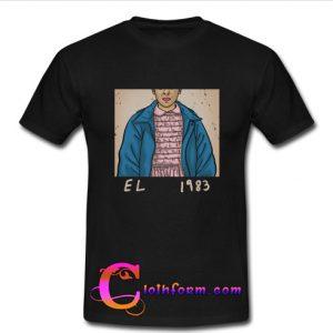 1983 Stranger Things Eleven T Shirt