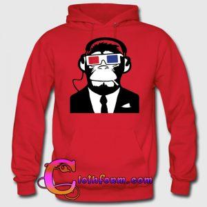 3d ape monkey hoodie