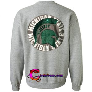 Michigan State Sweatshirt back