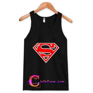 superman logo tanktop