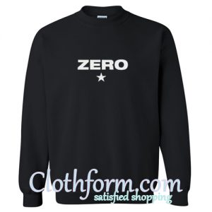 zero star sweatshirt