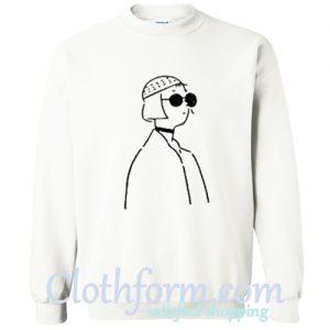 Aesthetic Line Art Sweatshirt