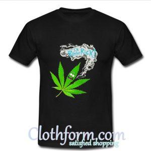Rick And Morty Cannabis t shirt