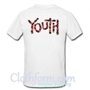 Youth t shirt back
