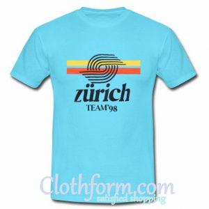 zurich team 98 t shirt