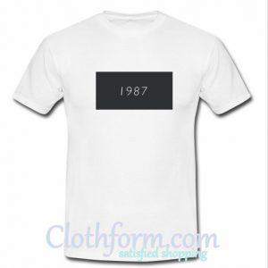 1987 t shirt