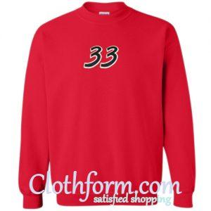 33 Sweatshirt