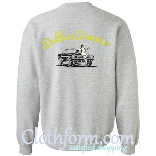 Endless Summer sweatshirt back