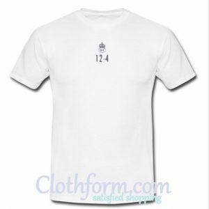 12-4 t-shirt