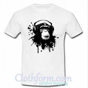 Monkey Business listen to music T shirt