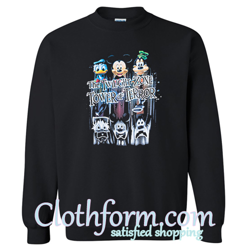 Twilight Zone Tower of Terror Sweatshirt