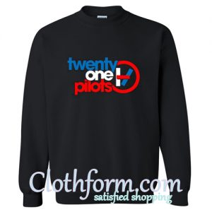 21 Pilots Black Sweatshirt