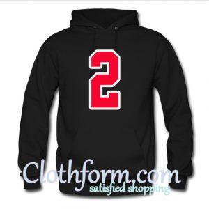 2 Number Hoodie