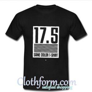 17.5 Same Color T shirt At