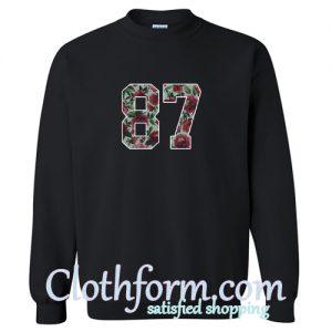 87 Sweatshirt At