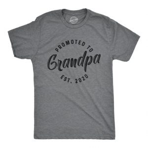 Promoted to Grandpa Est 2020 Shirt