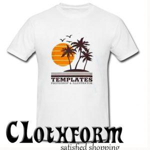 Templates Photoshop and illustrator T Shirt