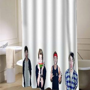 5 Seconds of Summer custom shower curtain customized At