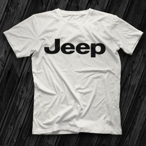 Jeep White Unisex T-Shirt At