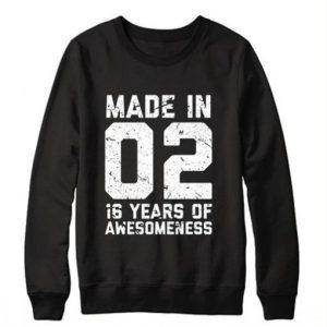 16th Birthday Sweatshirt
