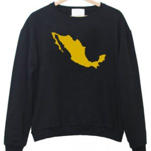 Mexico Map Sweatshirt