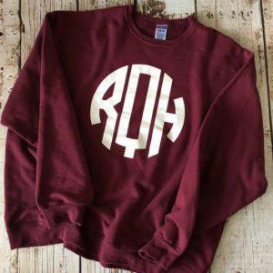 Monogramed Sweatshirt