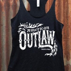 American Outlaw Racerback Tank top