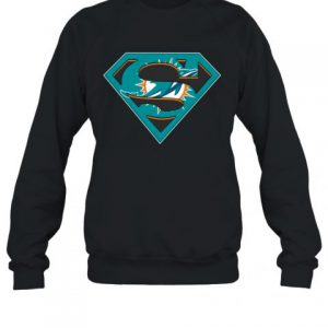 Miami Dolphins Superman Sweatshirt