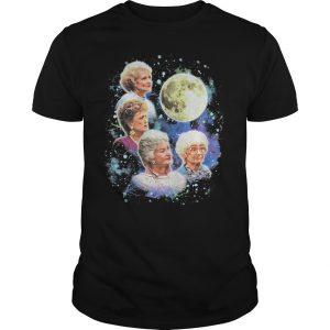 Bioworld The Golden Girls Women's Four Golden Girls Moon T-Shirt AI