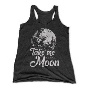 Take Me To the Moon Tanktop