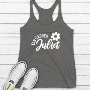 Tan Legged Juliet Tanktop