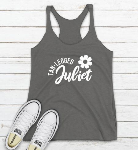Tan Legged Juliet Tanktop
