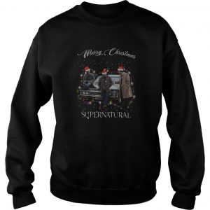 Merry Christmas Supernatural Sweatshirt SN