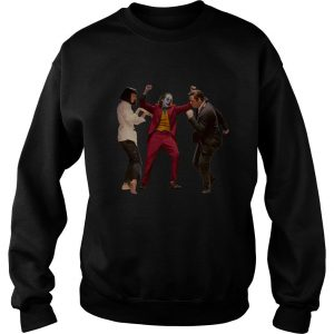 Mia Wallace and Vincent Vega and joker pulp fiction dance Sweatshirt SN