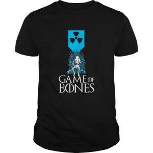 Radioactive Symbol Skeleton Game Of Bones T Shirt SN